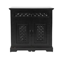 AV1730-1732AB  Komoda 2D/1S Avola Antique Black