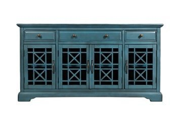 AV175-60 Komoda 4D/3S Avola Antique Blue