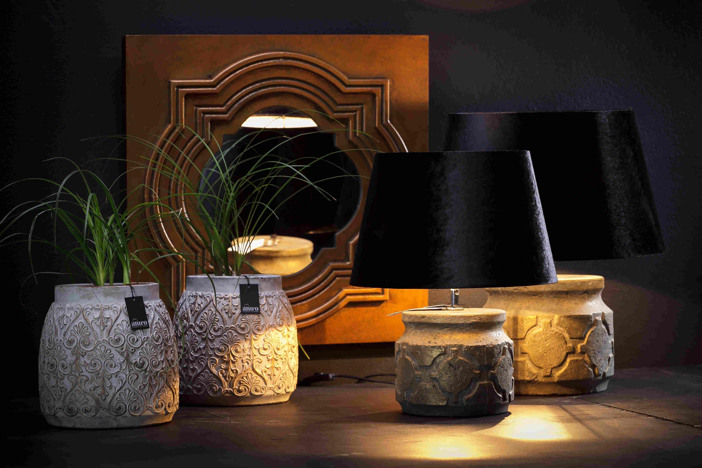 Abażur Do Lampy Czarny Aluro Xl Asortyment Produkty